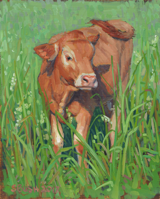 , 'Cow Study 22,' , West Branch Gallery