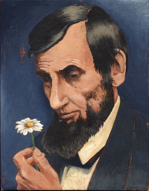 , 'Lincoln with Daisy,' 2010, Court Tree Gallery