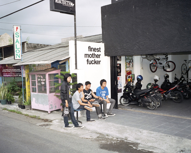 , 'Finest Motherfuckers Slackers Company, Yogyakarta, Indonesia February 2010,' 2010, Gestalten