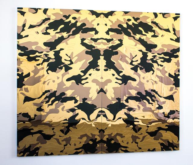 , 'Mimic (Gold),' 2014, Michael Fuchs Galerie