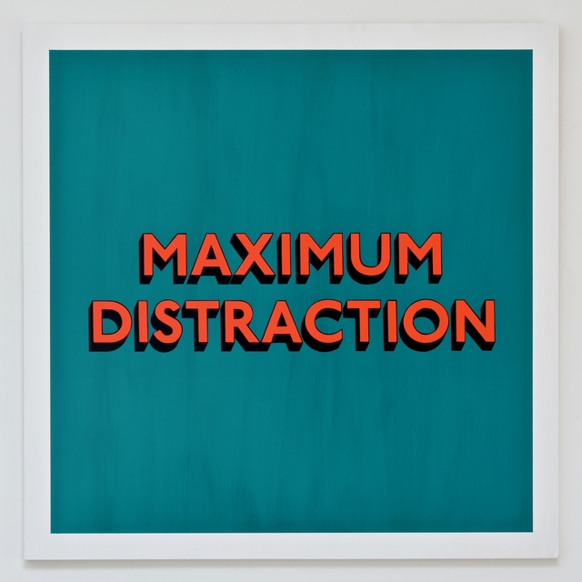 , 'MAXIMUM DISTRACTION,' 2017, Hang-Up Gallery