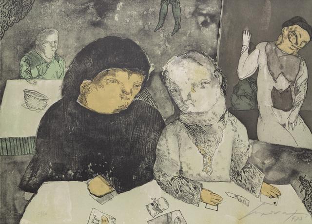Jose Luis Cuevas, 'Papeles de Salazar', 1983, RoGallery