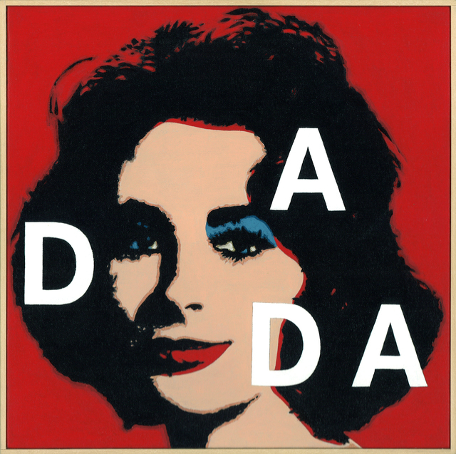 ", 'Andy Warhol, ""Liz"", 1965, Dada(#2),' 2002, Collectors Contemporary"