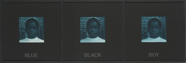 Carrie Mae Weems, 'Blue Black Boy (from Colored People)', 1989-1990, Guggenheim Museum