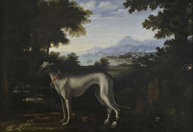 , 'A Greyhound in a Landscape,' , Robilant + Voena