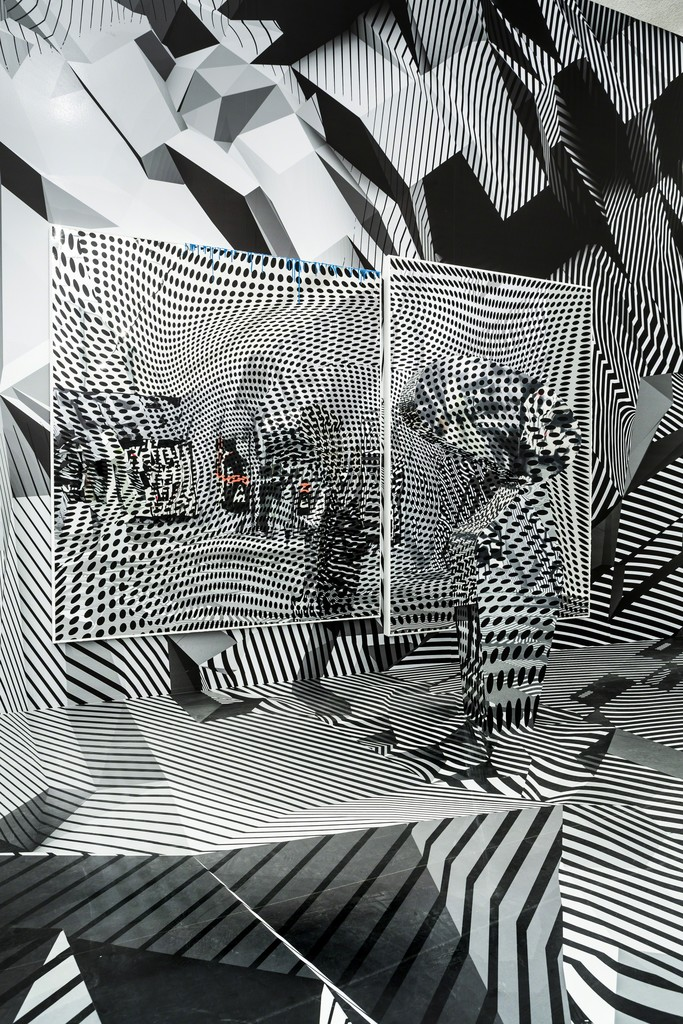 D Illusion Exhibition : Tobias rehberger installation view quot