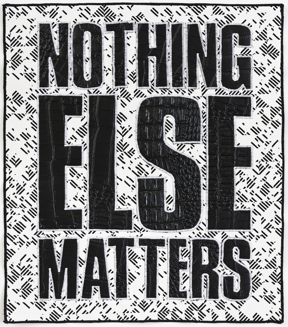 , 'Nothing Else Matters,' 2017, The Southern