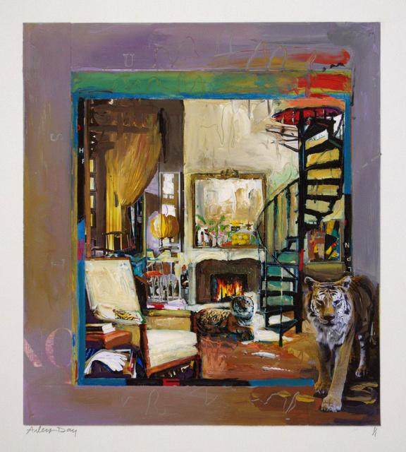 , 'Tiger's Sanctuary,' 2017, ArtSpace / Virginia Miller Galleries