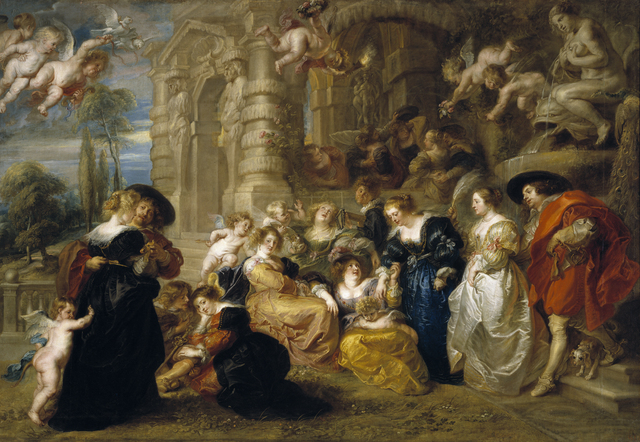 Peter Paul Rubens, 'Garden of Love', 1630-1632, Art History 101