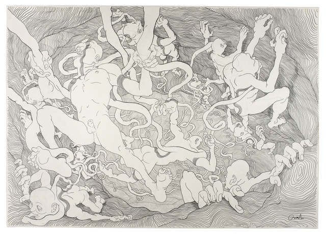 , 'Graphite #1,' 2012, V1 Gallery
