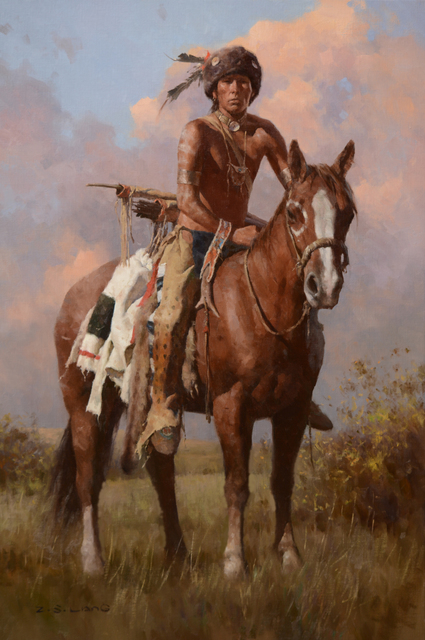 , 'Buffalo Scout,' 2016, Trailside Galleries