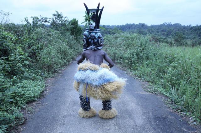 Zina Saro-Wiwa, 'Men of the Ogele: Janus', 2014, Tiwani Contemporary
