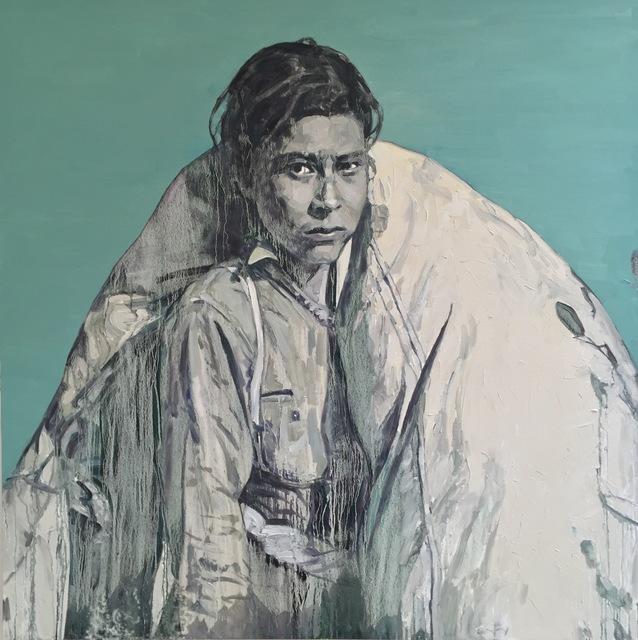 Hung Liu, 'Cotton Picker', 2015, Nancy Hoffman Gallery