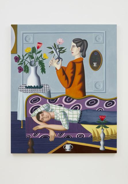 Jonathan Gardner, 'The dream', 2019, Painting, Oil on linen, Casey Kaplan