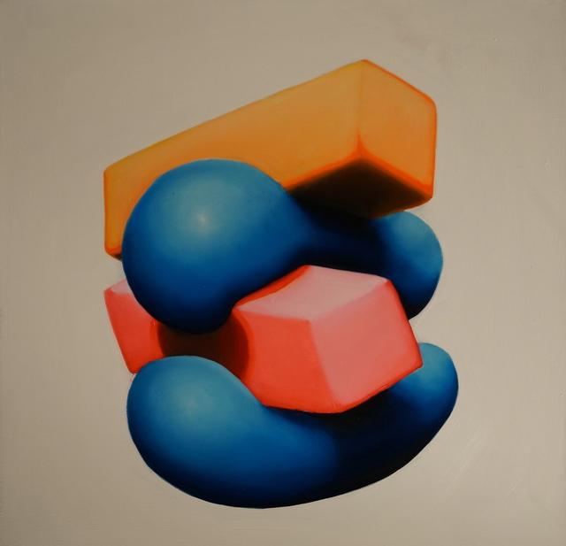 , 'Orange on top,' 2015, Insa Gallery