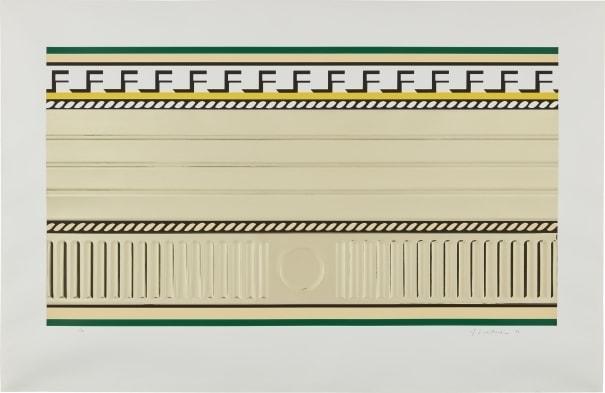Roy Lichtenstein, 'Entablature III', 1976, Taglialatella Galleries