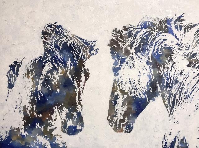 , 'Equestrian,' 2018, Diehl Gallery