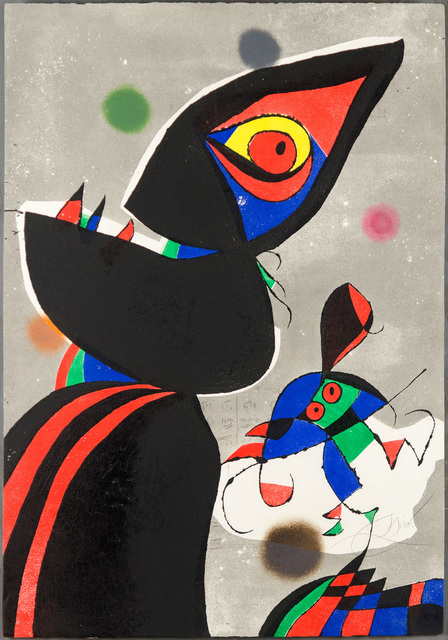 Joan Miró, 'Gaudi XVII', 1979, Christopher-Clark Fine Art