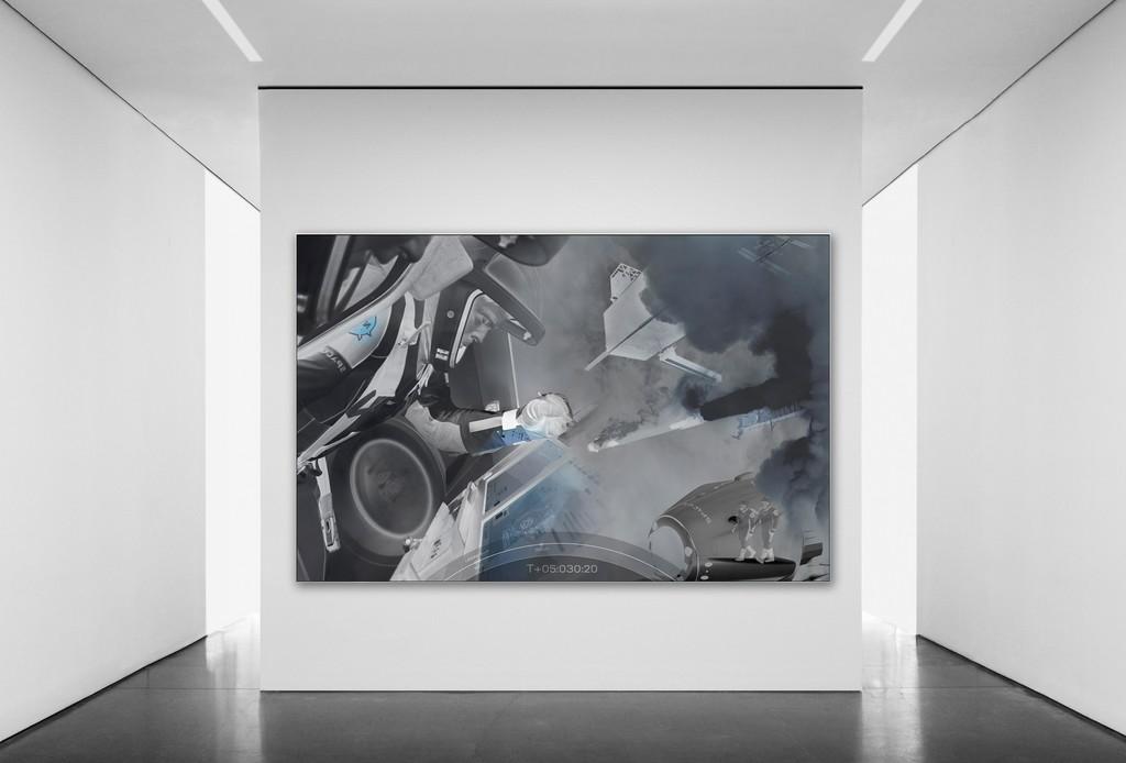 Michael Najjar / crew dragon - outer space