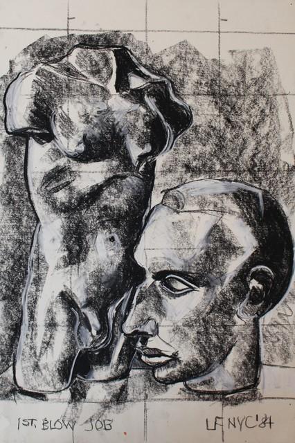 Luis Frangella, '1st Blow Job', 1984, Hal Bromm
