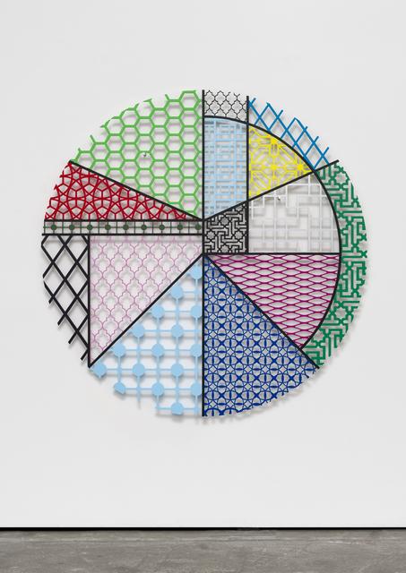 , 'Pattern Kinship, peace II,' 2017, Wentrup