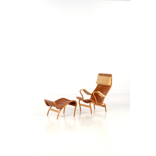 Bruno Mathsson, 'Pernilla, Lounge chair and ottoman', near 1930, PIASA