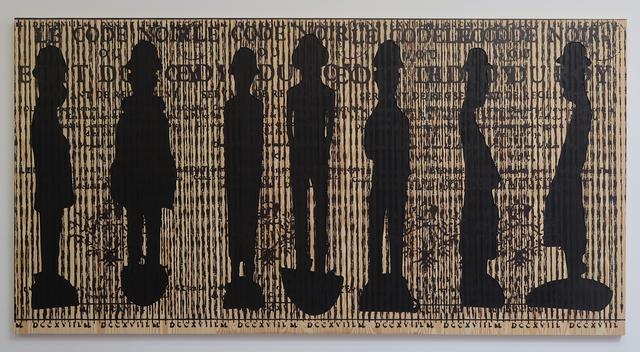 Pascale Marthine Tayou, 'Code noir 6', 2018, Richard Taittinger Gallery