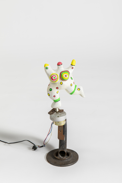 Niki de Saint Phalle, 'Nana Dansant', 1976, Sculpture, Painted polyester and iron support with electric motor by Jean Tinguely, Salon 94