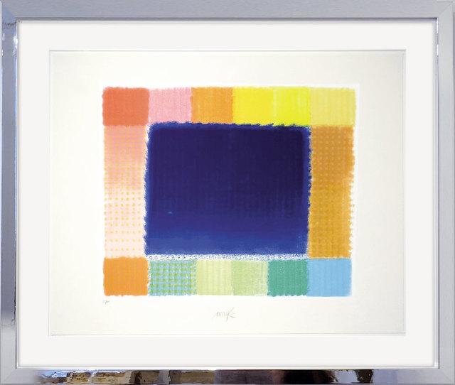 , 'Blue Field,' 2016, Galerie Kellermann