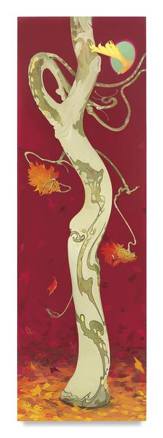, 'Arbor Ignudi Fall,' 2017, Miles McEnery Gallery
