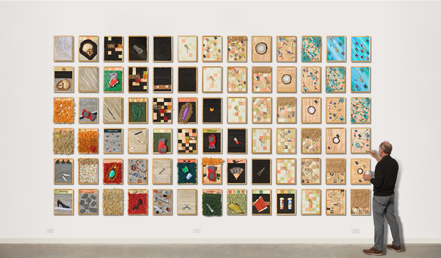 , 'A Puzzle for Alice,' 2014 -ongoing, CYNTHIA-REEVES