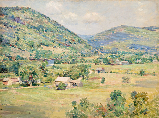 , 'West River Valley, Vermont,' 1895, Godel & Co.