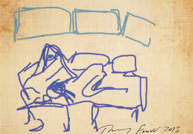 Tracey Emin, 'iPad Postcard Sketches (4 works)', 2013, Roseberys