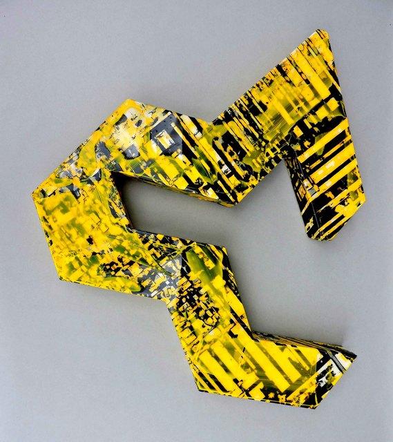 , 'Wall object #2 (yellow),' 2017, Galerie Olivier Waltman | Waltman Ortega Fine Art