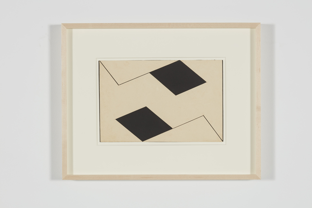 , 'Estudo para Planos em superfície modulada (Study for Planes in modulated surface),' 1957, Luhring Augustine