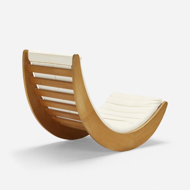Verner Panton, 'Relaxer 2 rocking chair', 1974, Wright