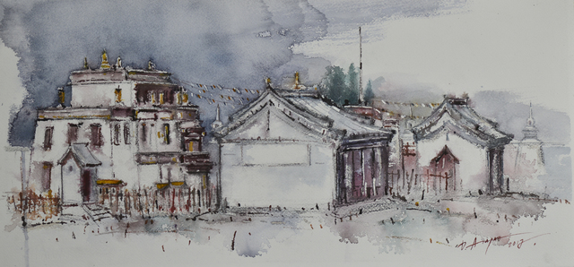 , 'Erdene Zuu Monastery,' 2017, Best Art Gallery