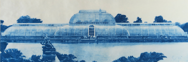 , 'Paradise at Kew Gardens  (phthalo blue),' 2018, CMS Art Projects