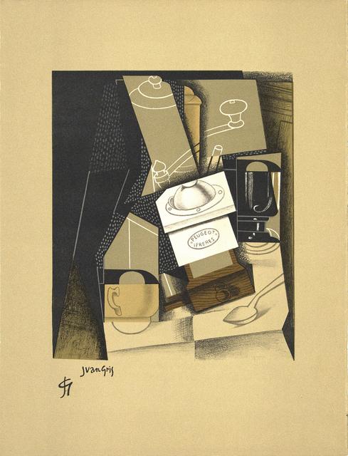 Juan Gris, 'Moulin a Café (Coffee Grinder) from Au Soleil au Plafond', 1916/1917, Heather James Fine Art Gallery Auction