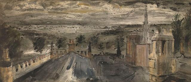 , 'Roofscape, Renishaw Hall,' 1942-43, Christopher Kingzett Fine Art