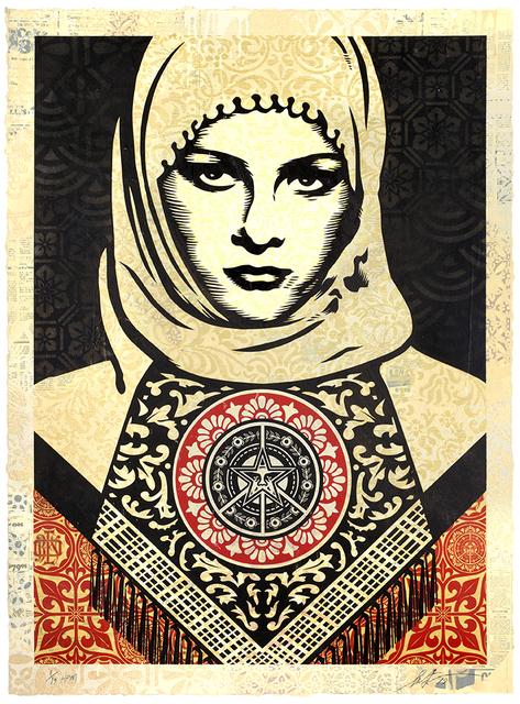 Shepard Fairey, 'Arab Woman', 2019, Samuel Owen Gallery