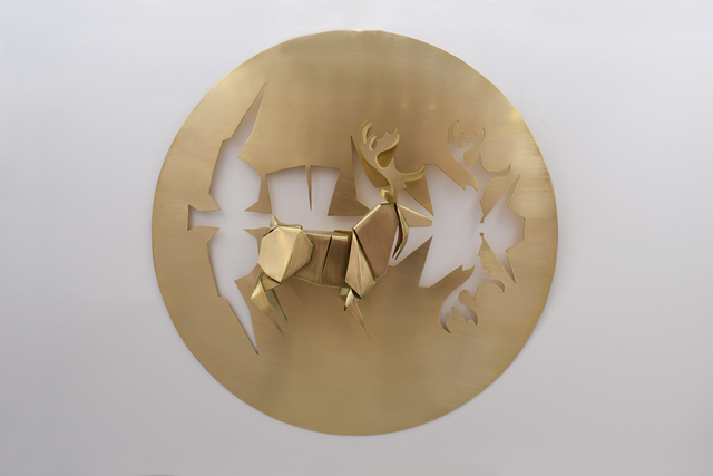 , 'Folding From A Piece - Deer,' 2019, Karin Weber Gallery
