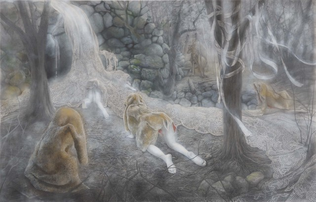 , 'Waterfall,' 2016, Mizuma Art Gallery