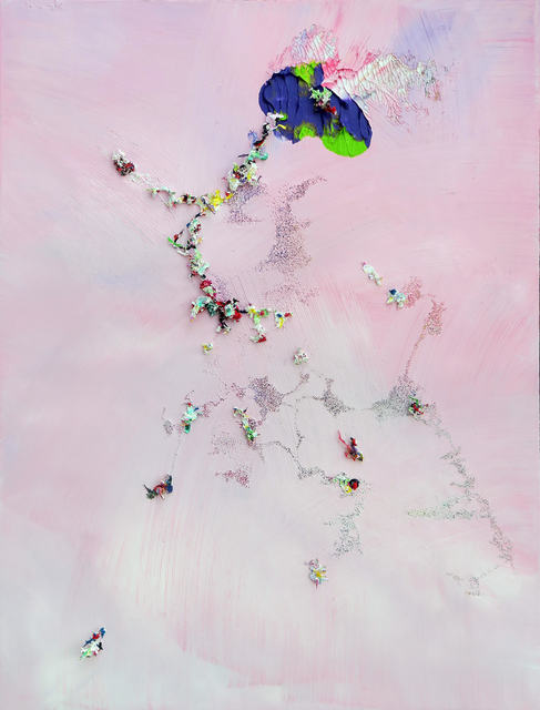 , 'Painting #05 from purple series,' 2017, Anna Nova Gallery