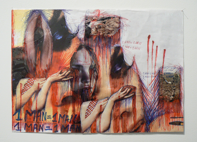 , '1 Man = 1 Man (18/20),' 2002, Rhona Hoffman Gallery
