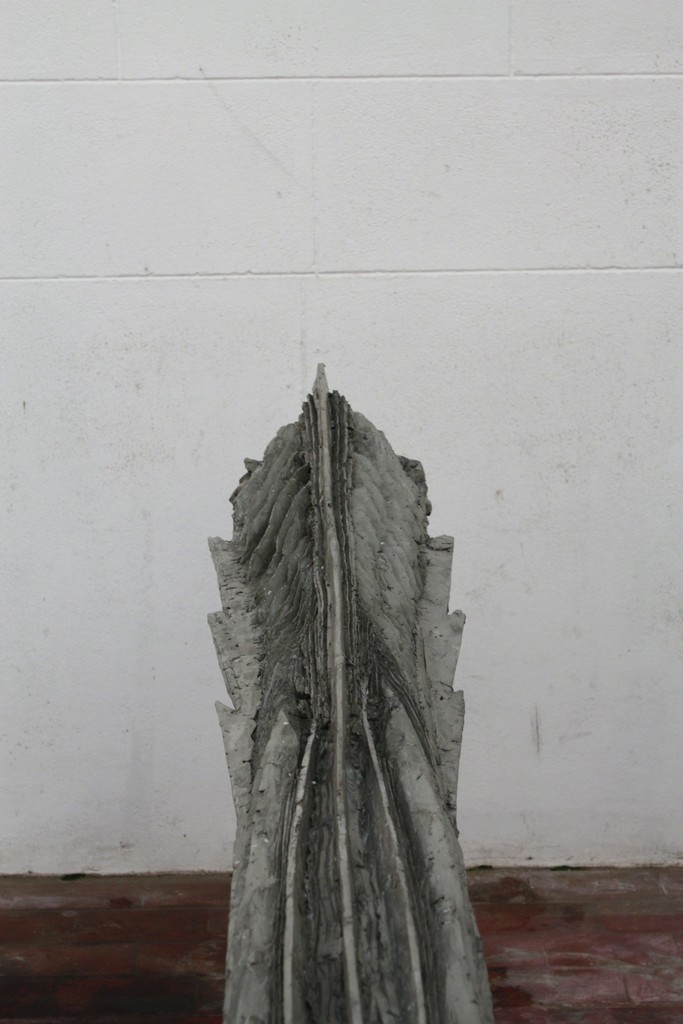 Type 3 Bullet  2011  modelled in clay, cast in acrylic and concrete, polished by hand 20x280x25cm