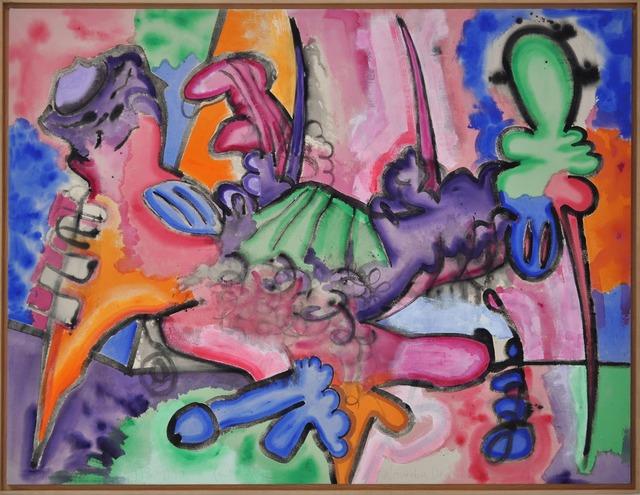 , 'Shape with Points,' 1989-1990, Helen Frankenthaler Foundation