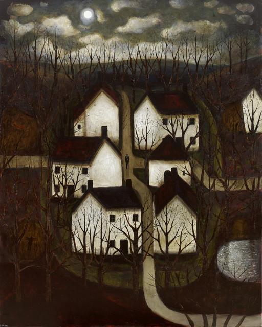 , 'Moon Village,' 2017, John Martin Gallery