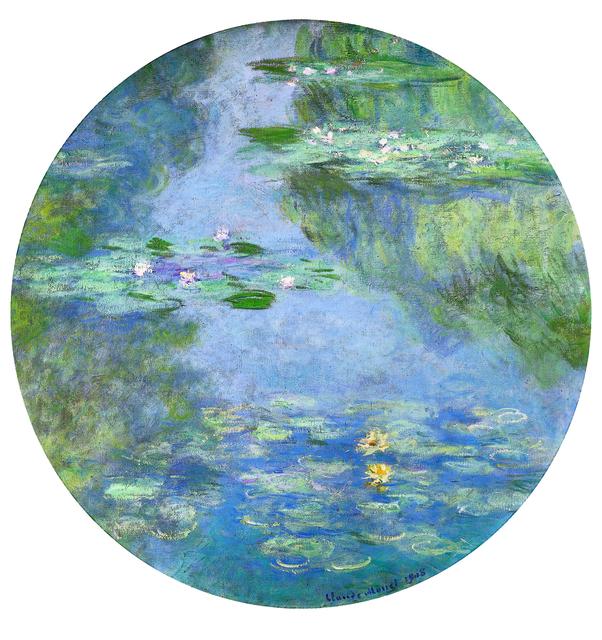 , 'Water Lilies,' 1908, ARoS Aarhus Art Museum
