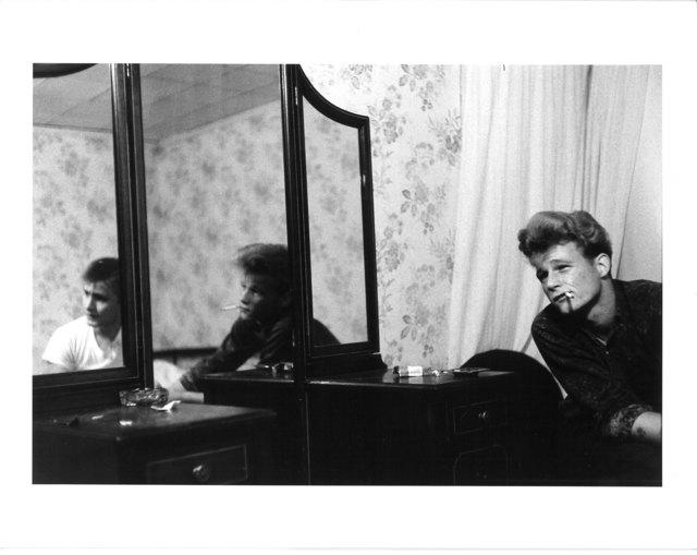 , 'Untitled (two men and mirror),' ca. 1970, Elizabeth Houston Gallery